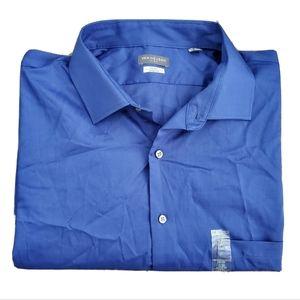 NWT Van Heusen Blue Button Down Dress Shirt